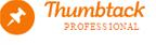 Logo 7, thumbtack